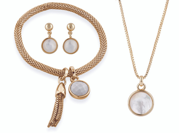 .Carnaby Mother of pearl set by Buckley London