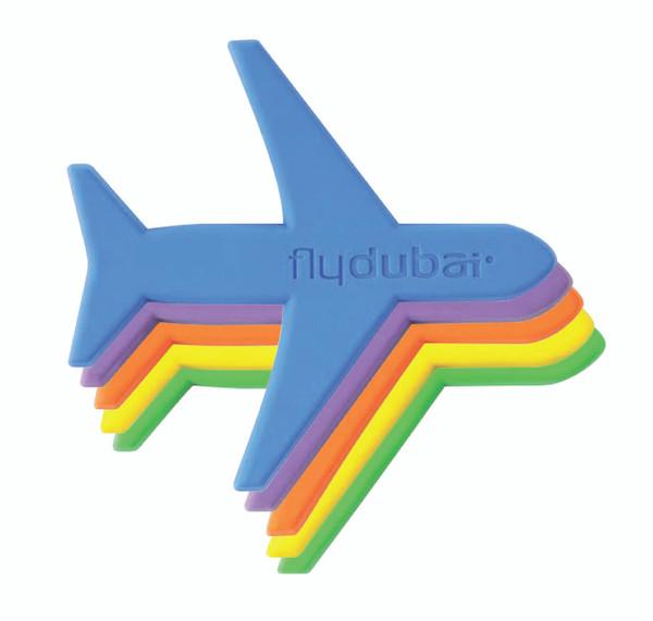 flydubai Plane magnet Set