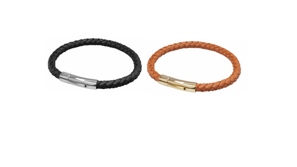 Braided Leather Bracelet DUO Kit by Lambretta