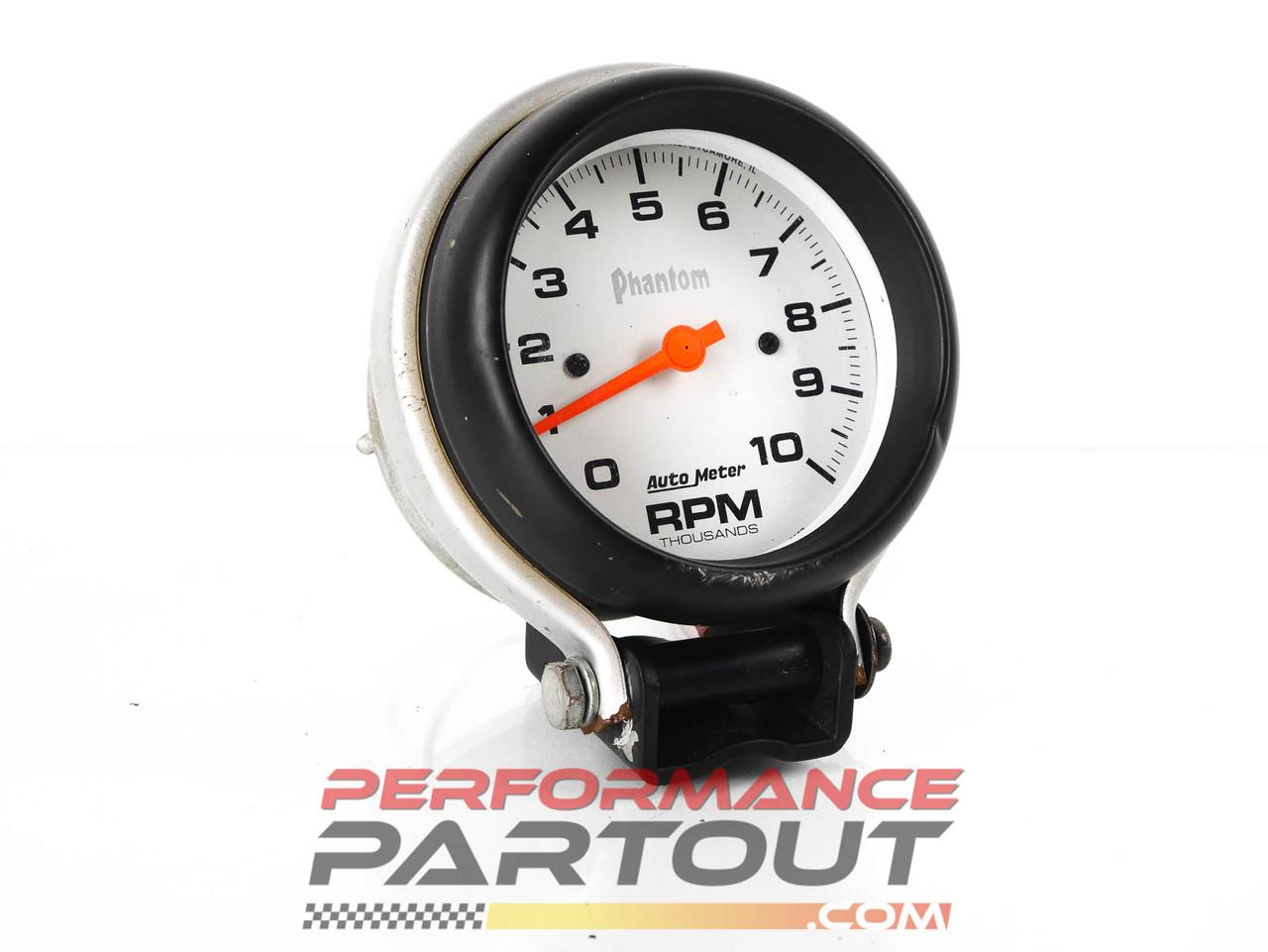 Autometer Phantom 10k rpm Tachometer 5897