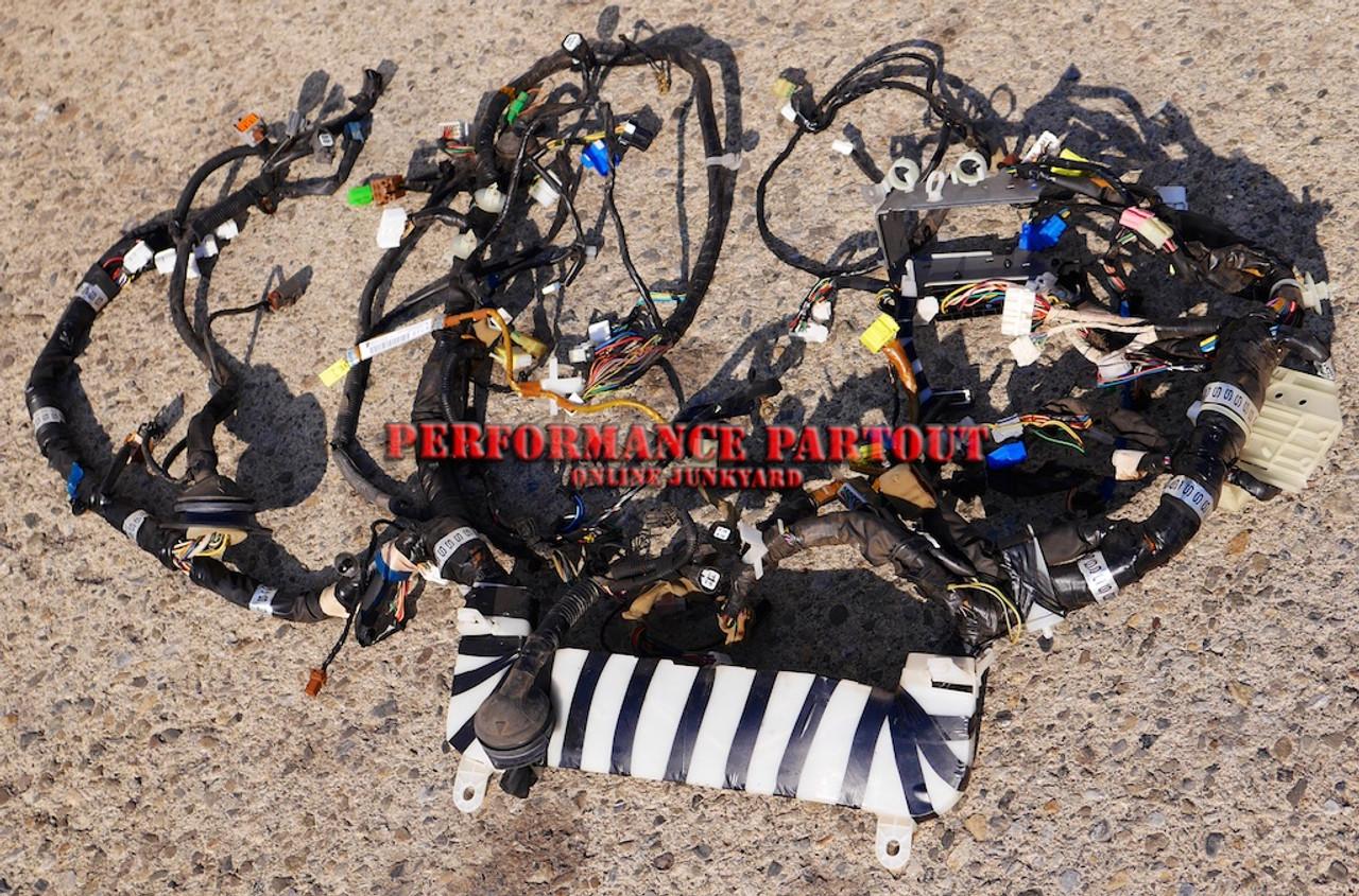 Body chis interior bulk wiring harness WRX Manual Sedan 02  Subaru Wiring on
