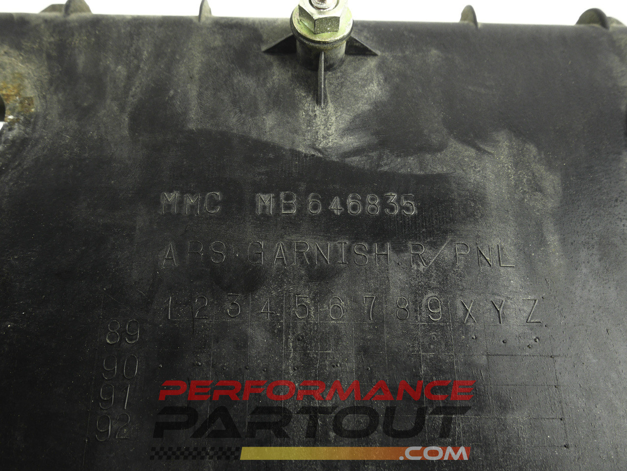 Taillight backing plate 91 GVR4
