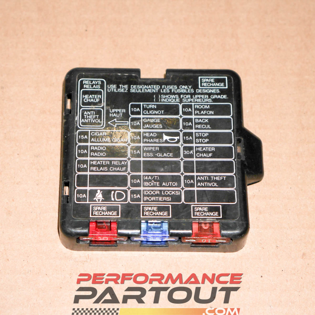 This Is A Fuse Box Cover From 90 - Wiring Diagram Article Xj Fuse Box Location on