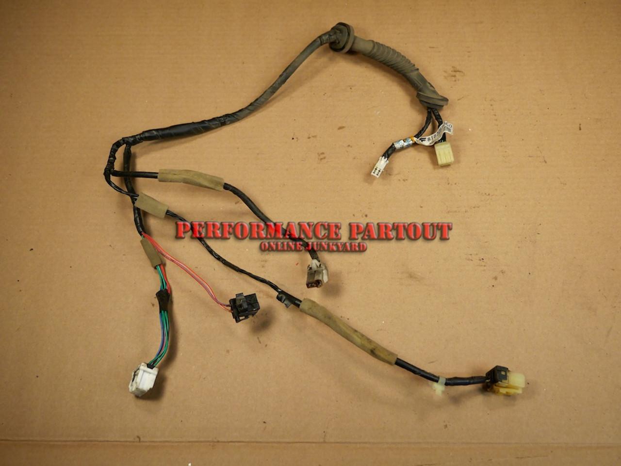 Door wiring harness Rear WRX 02-0 81822 FE000 on