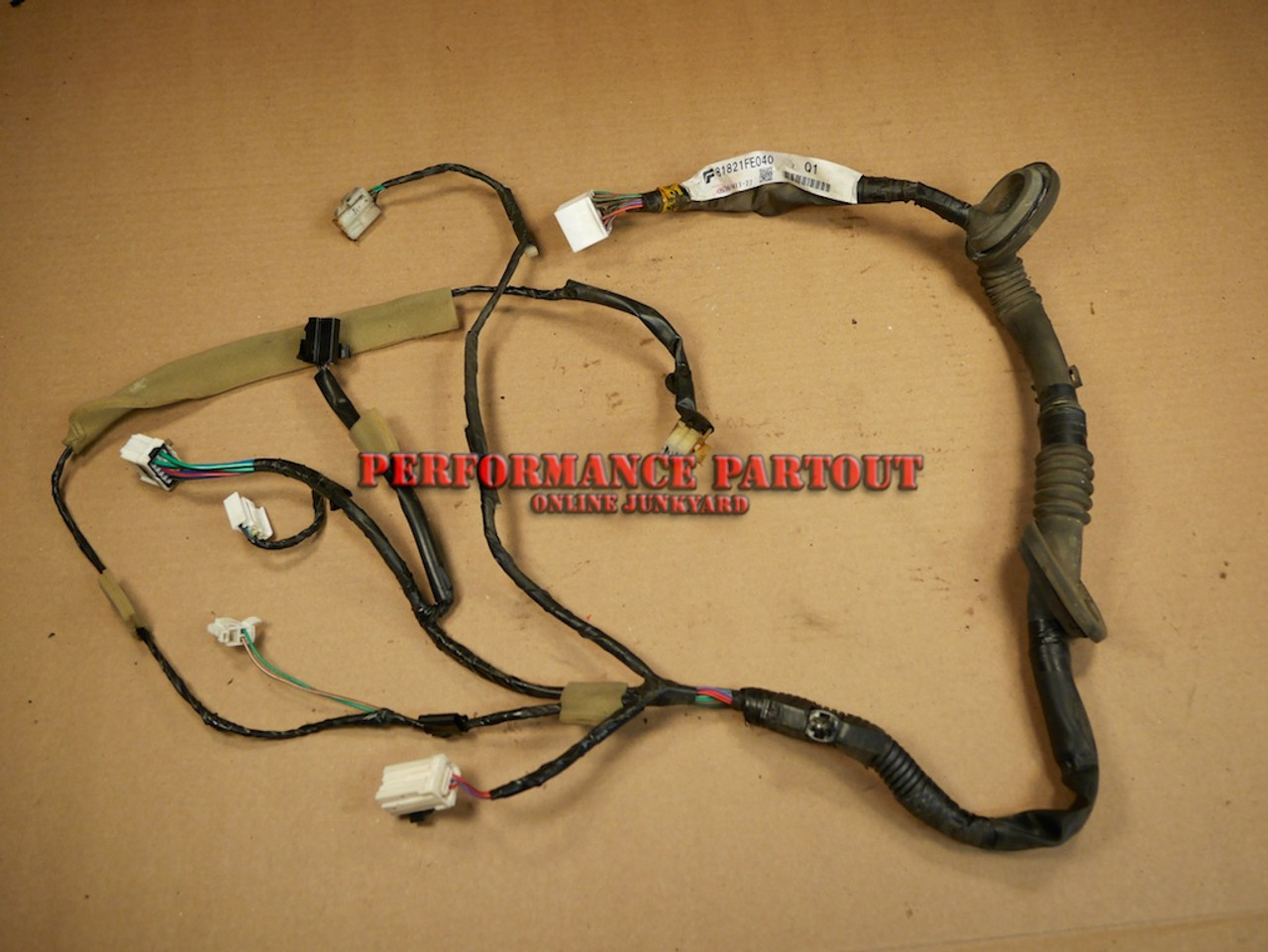 Wiring Harness Wrx