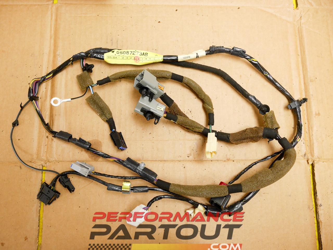 Hatch trunk wiring harness Mopar 05-07 on