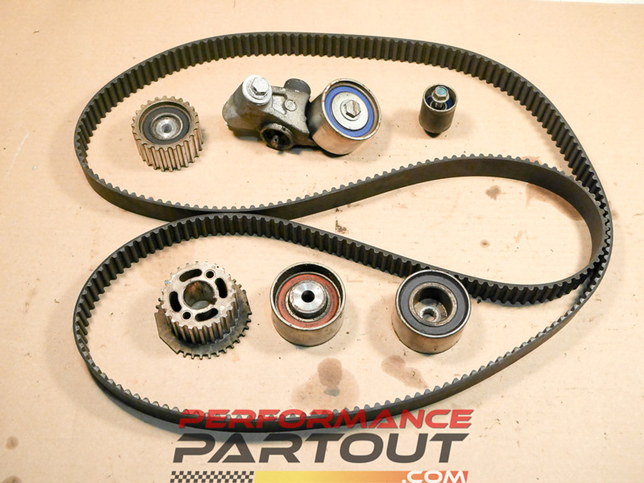 Timing belt set WRX 02-03