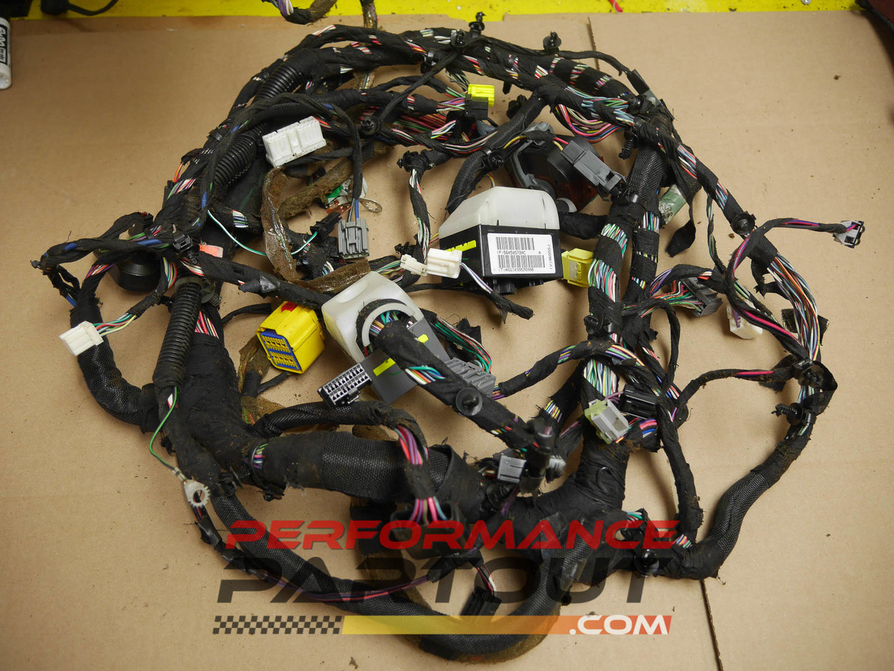 under dash wiring harness jeep grand cherokee 56050572ac Wiring Harness for Nissan Titan