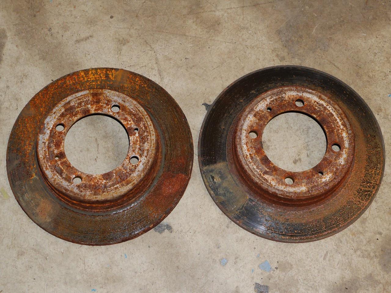 Brake rotor set GVR4 rear