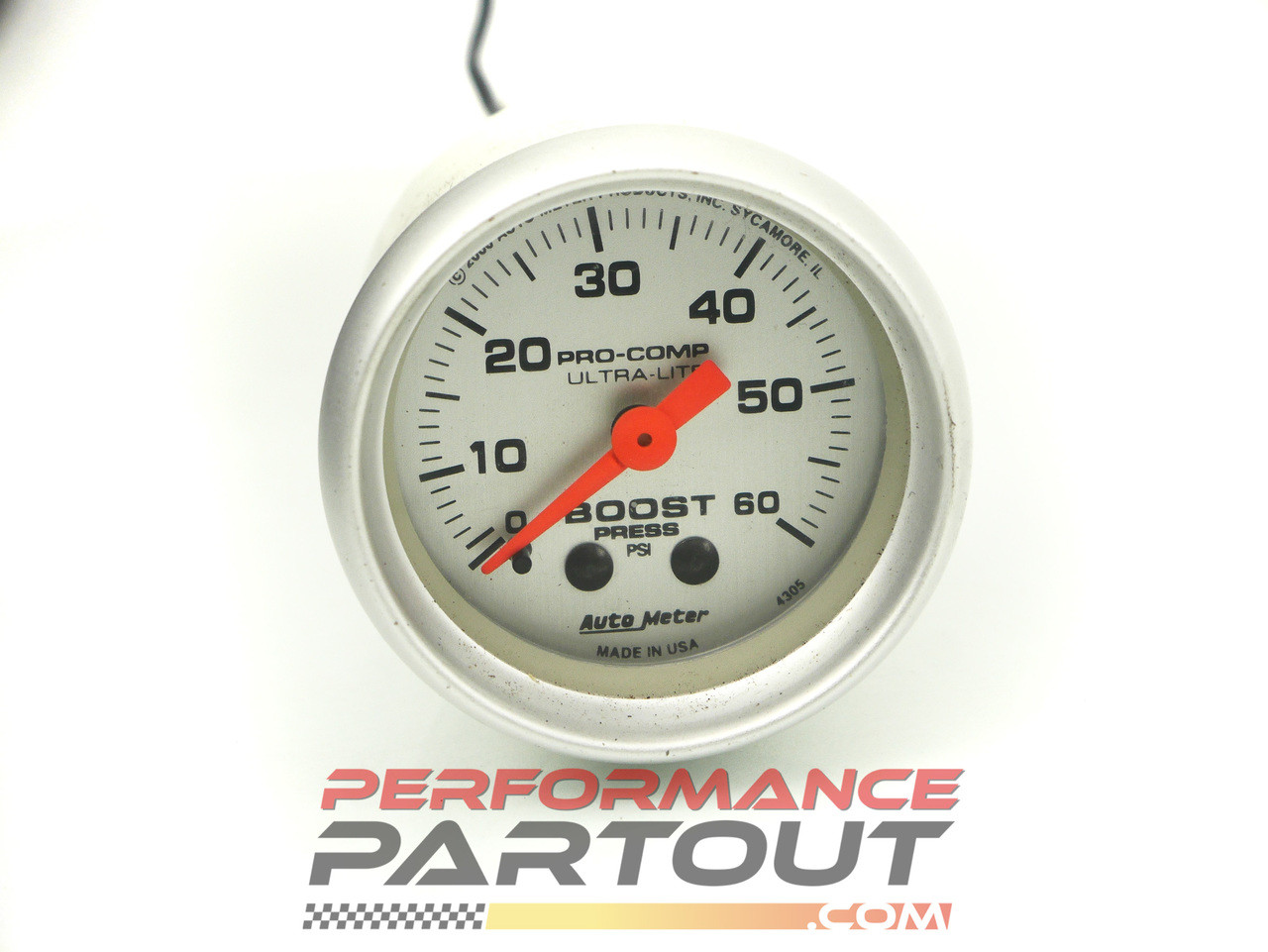 Autometer boost gauge Ultra Lite 4305 60psi