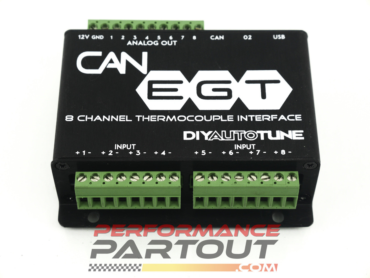 EGT CAN BUS controller w/  4X sensor/bung