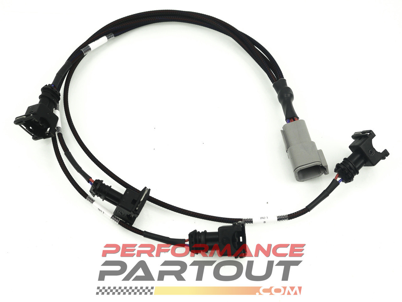 Injector Breakout harness DTM6 OEM plugs