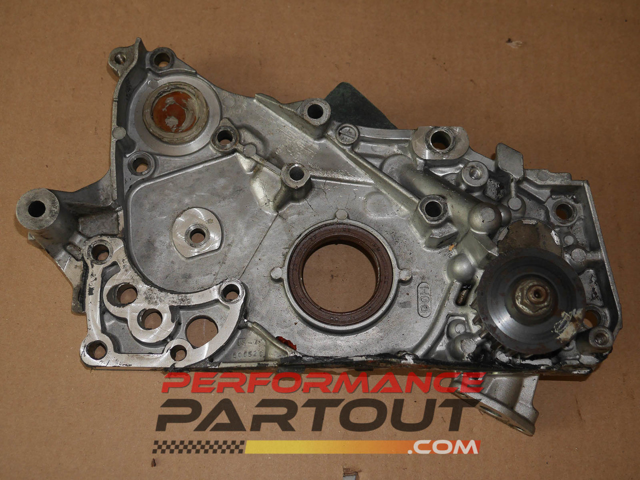 Front case oil pump 6bolt 4G63