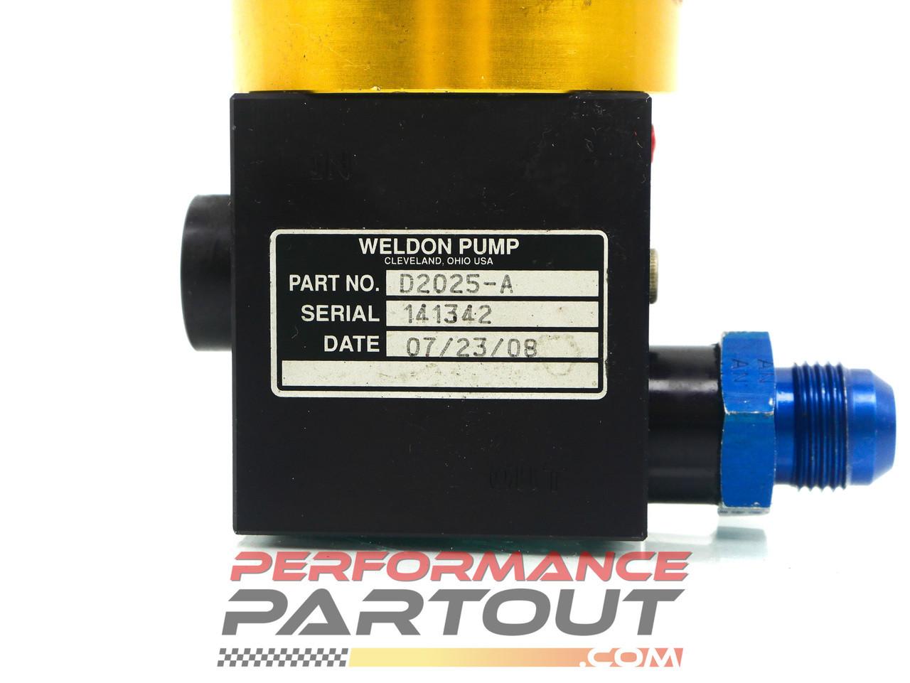 Weldon D2025-A fuel pump