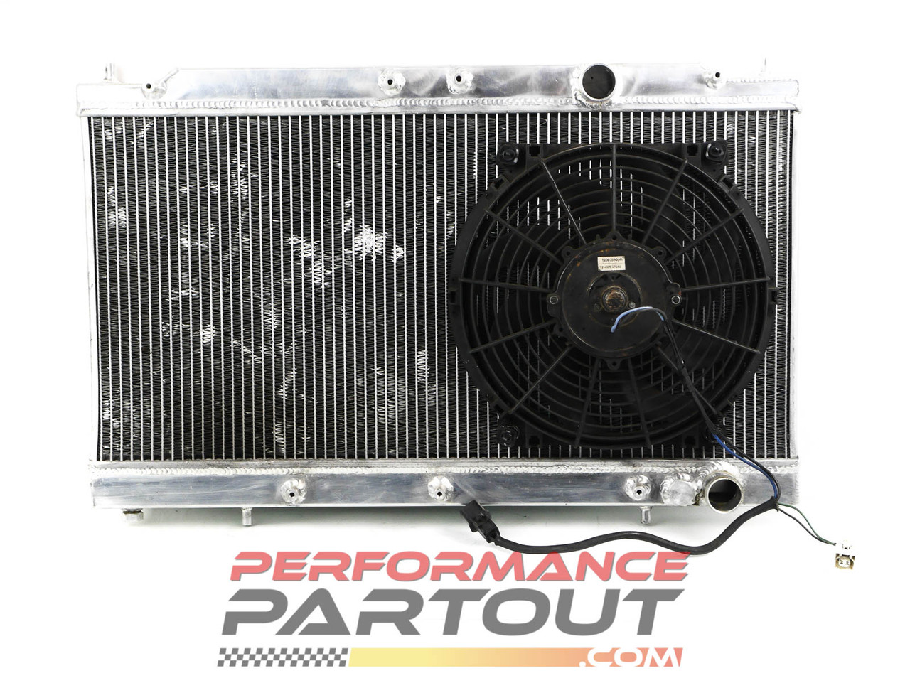 Mishimoto aluminum radiator 1G DSM