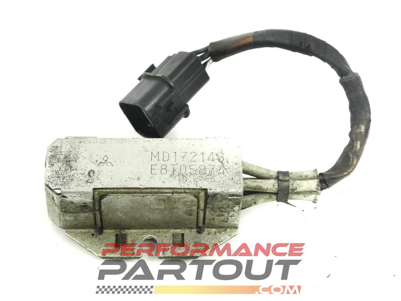 Injector ballast resistor