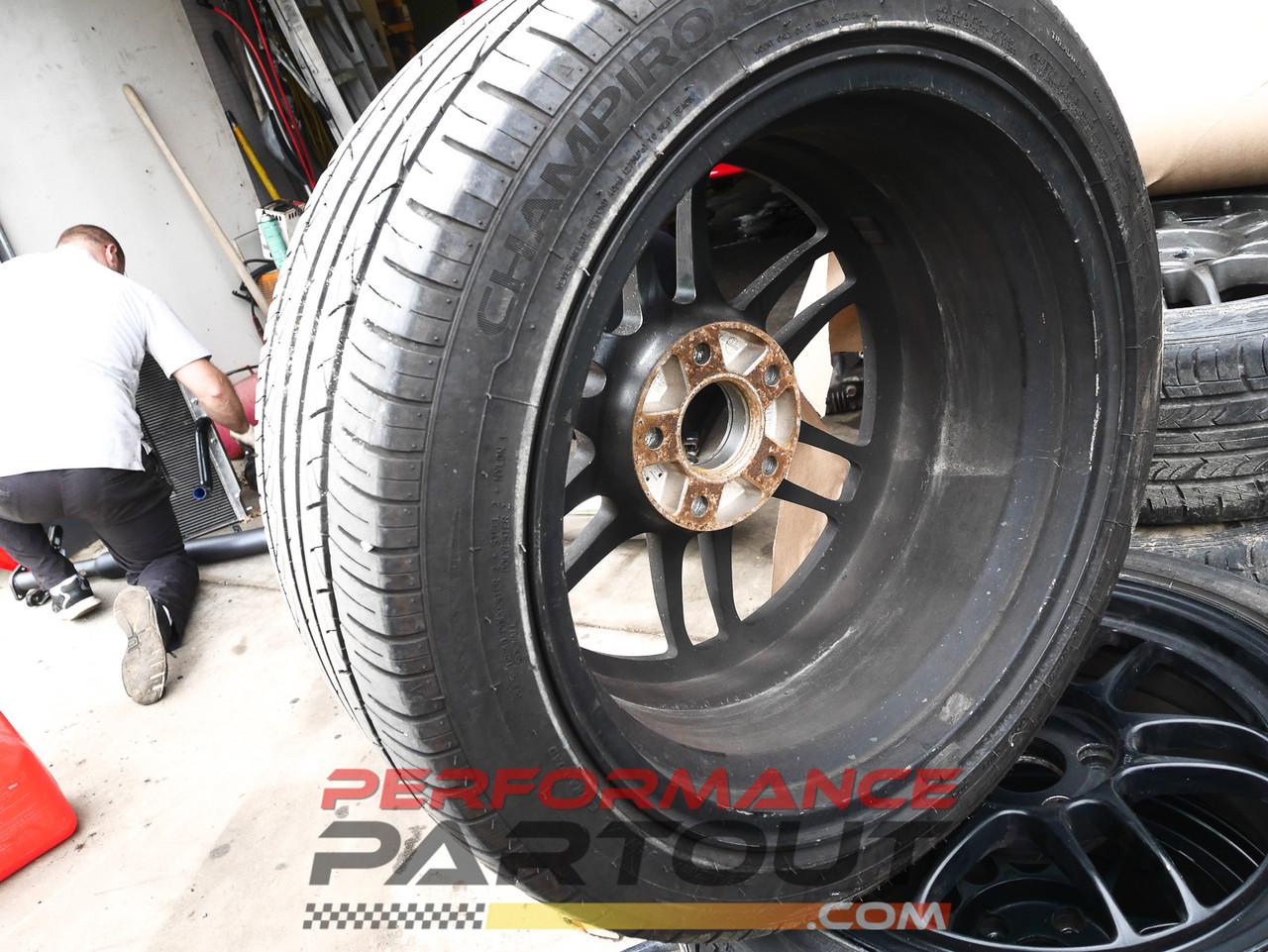 Enkei RPF1 17x8 wheel set