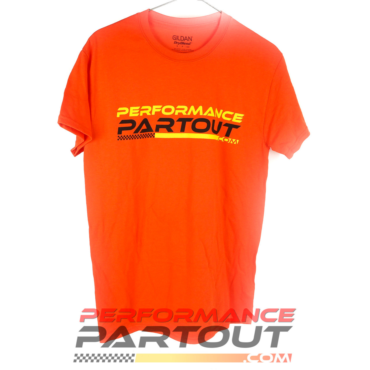 Performance Partout Tshirt Orange