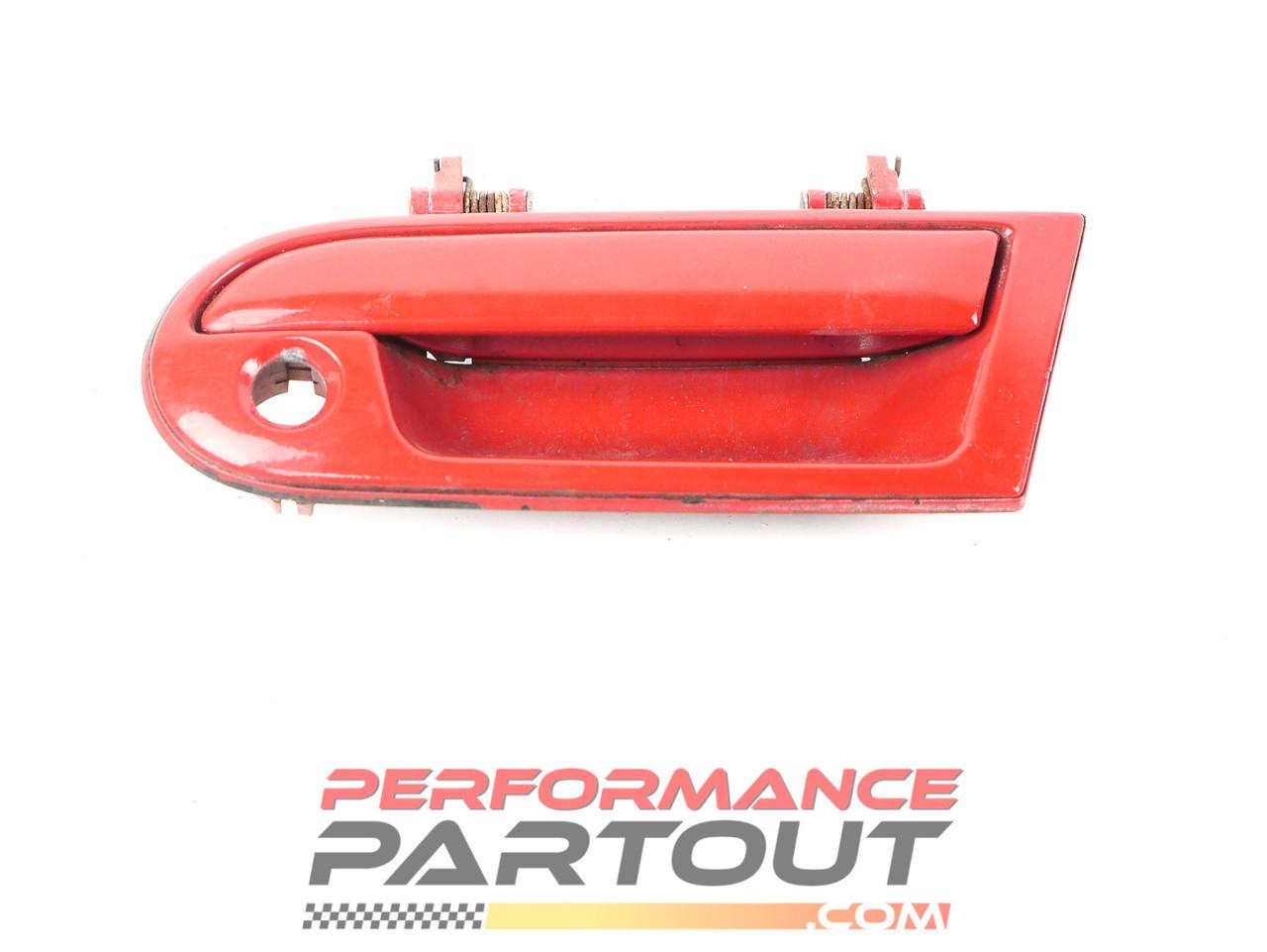 Door exterior handle 1G DSM Driver Red