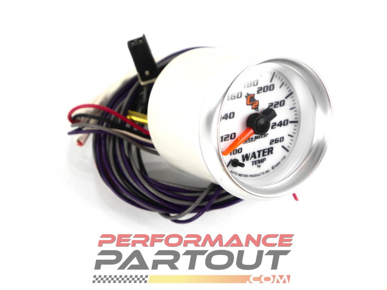 Autometer C2 Electric Water Temp Gauge 7155