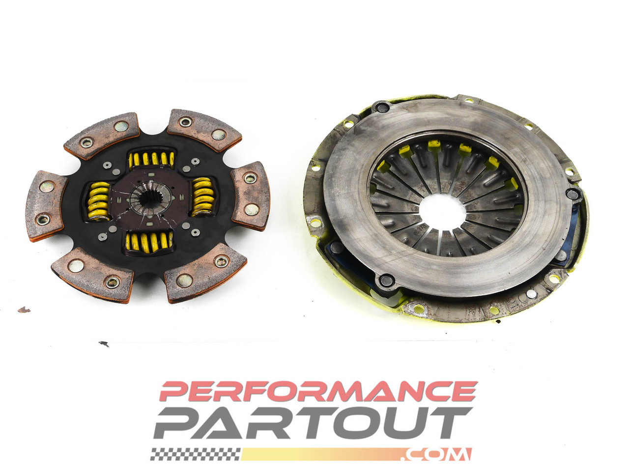 ACT 2100 w 6puck sprung disk - very low miles