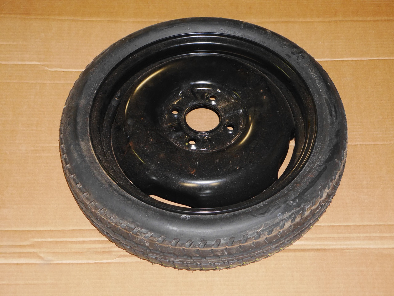 Spare tire and wheel 4lug GVR4
