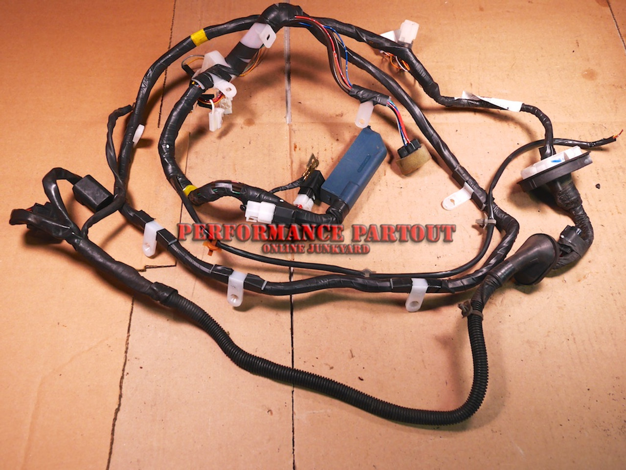 Alpine Stereo Wiring Harness Diagram