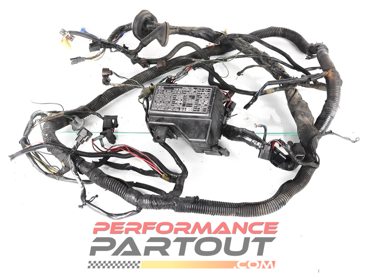 Chassis wiring harness - front exterior 1991 DSM