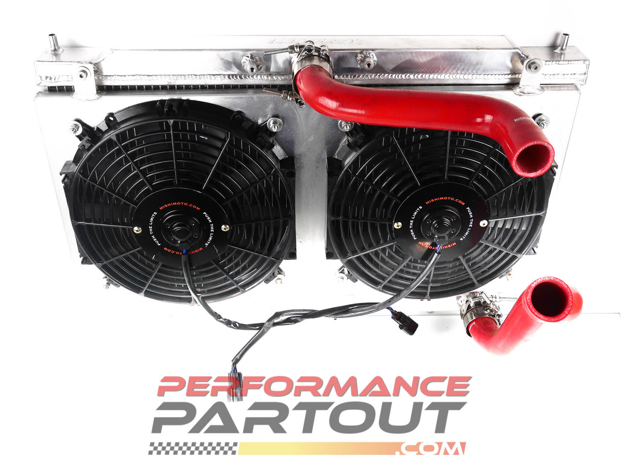 NEW Mishimoto 2G radiator & dual fan shroud kit