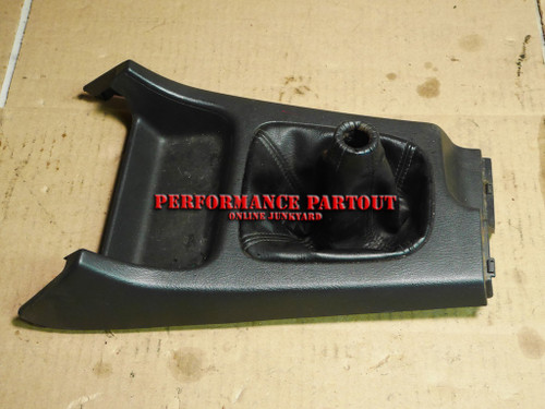 Shifter boot center console trim WRX MT 02-04