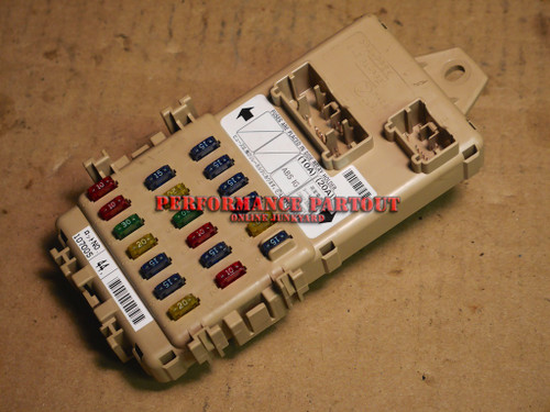 Fuse box block interior WRX 02-03
