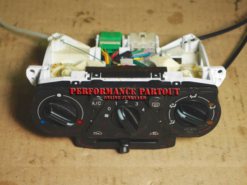 Climate control AC heat control assembly WRX 02-07