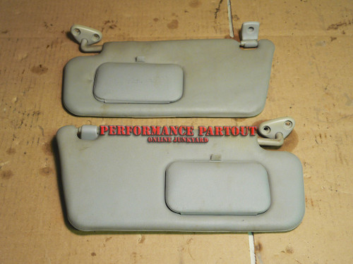 Sun visor set with clips WRX 02-04