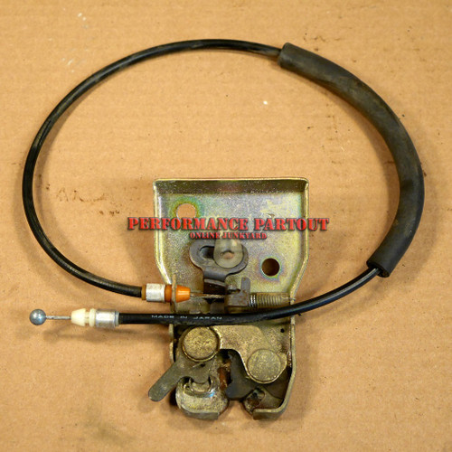 Trunk latch with release cable WRX sedan 02-07