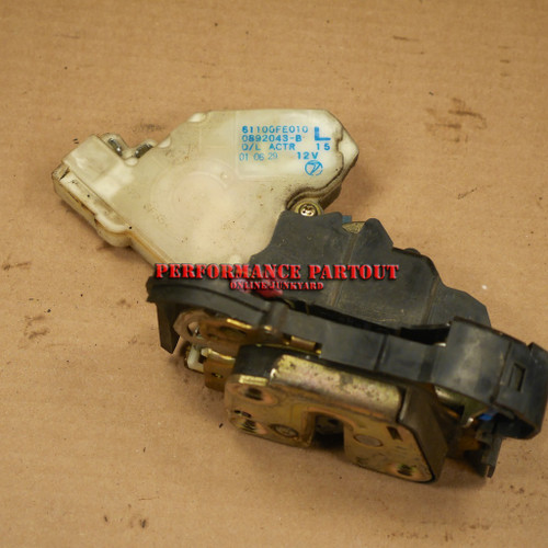 Door lock actuator assembly Driver Left Front