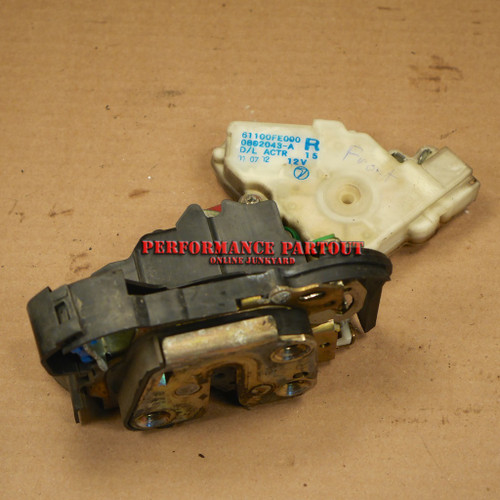 Door lock actuator assembly Pass Right Front