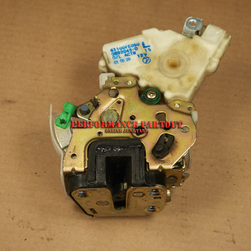 Door lock actuator assembly Drivers rear WRX 02-07