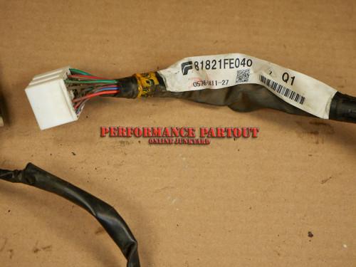 Door wiring harness Passenger Front WRX 02-04