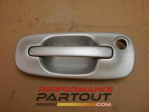 Door handle exterior Passenger Front WRX 02-07 Silver