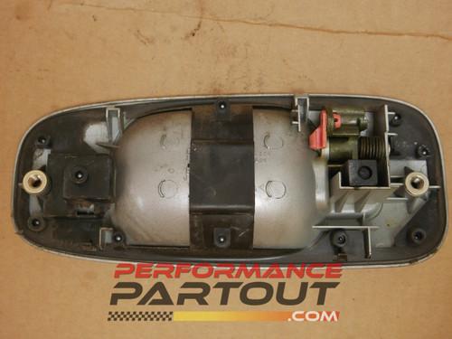 Door handle exterior Passenger Rear WRX 02-07 Silver