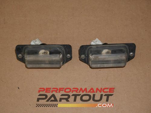 License plate lights 2G DSM