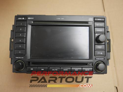 REC NAV headunit mopar chysler dodge jeep 6 disk 56038646AL