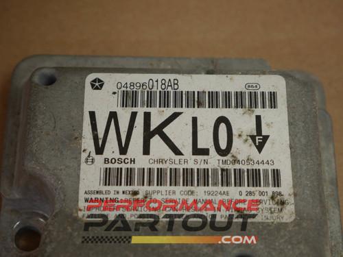 Airbag module Jeep Cherokee 2005 04896018AB