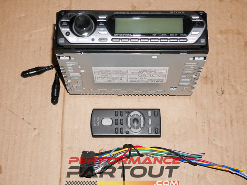 Sony CDX-GT40W headunit