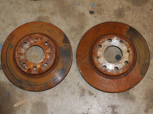 Brake Rotor pair GVR4 front