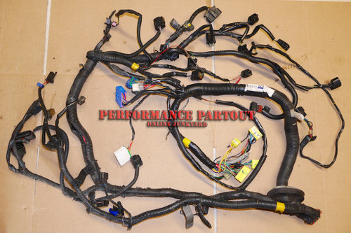 Engine wiring harness 2G A 95-96 Turbo DSM Manual MR243883 Modified