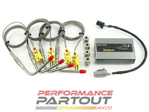 EGT TC4 CAN BUS Complete kit Haltech
