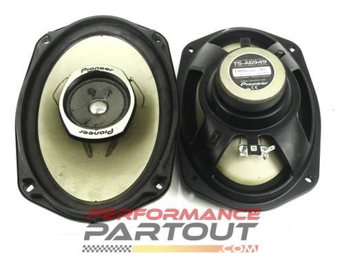 "Pioneer TS-A6949 6x9"" speaker set"