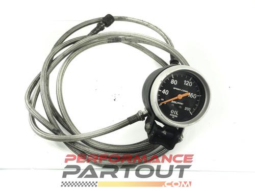 Autometer 200psi mech oil pressure gauge Sport Comp