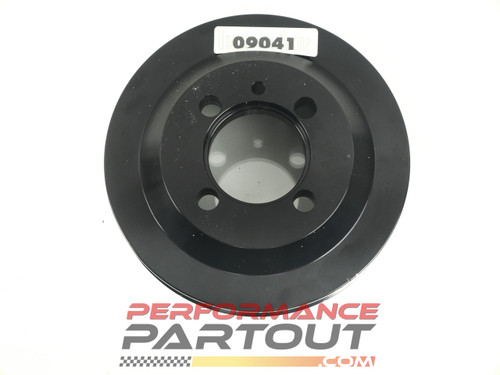 Unorthodox crank pulley 4G63 underdrive 09041